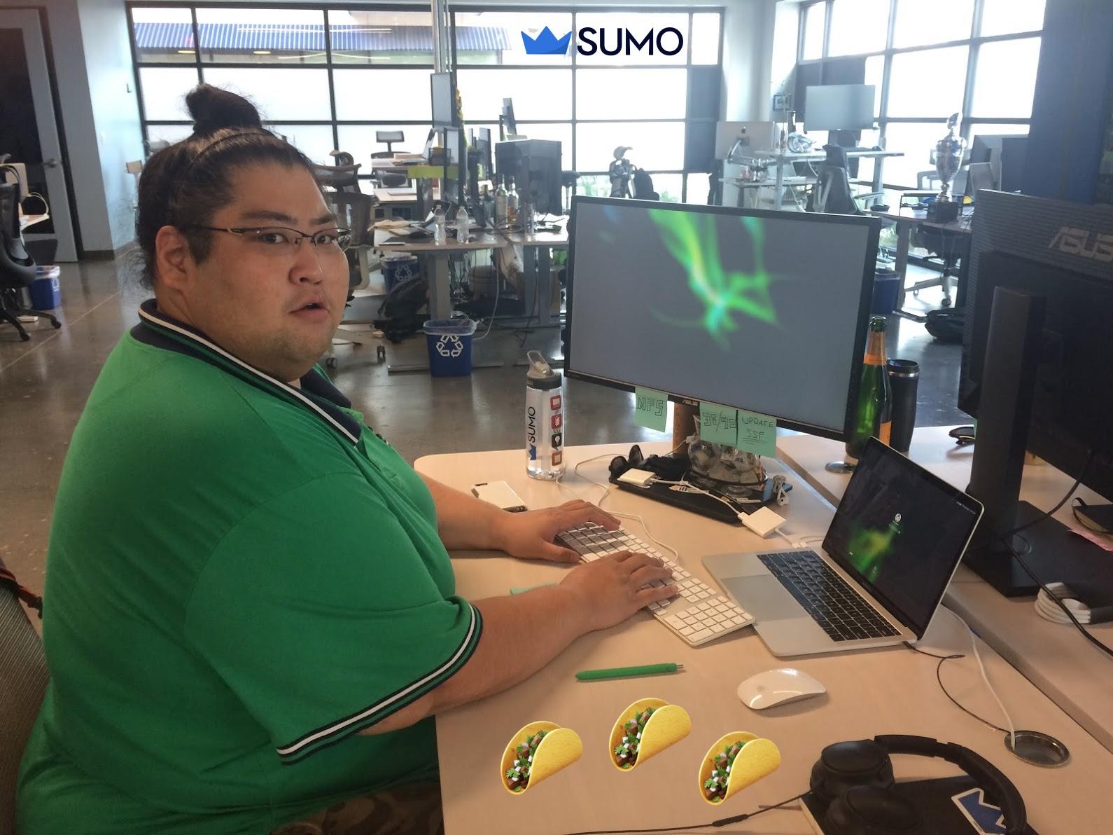 Picture of the sumo headquarters