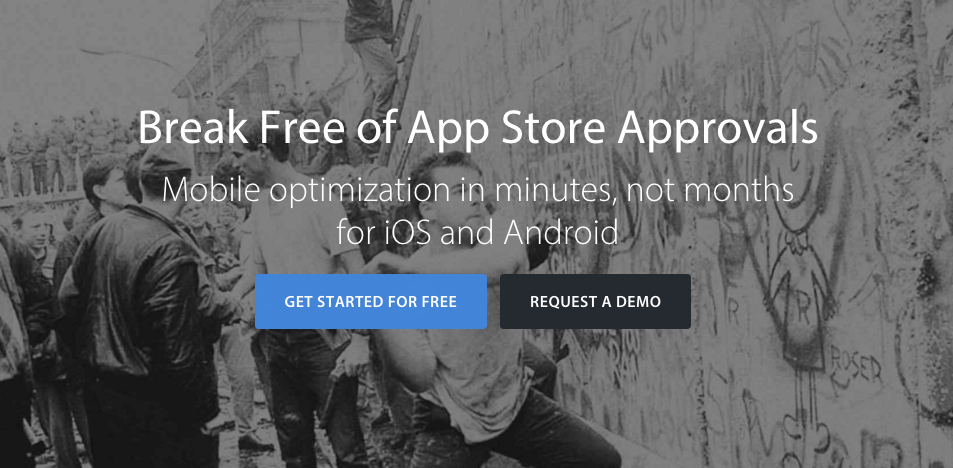 App Store value proposition example
