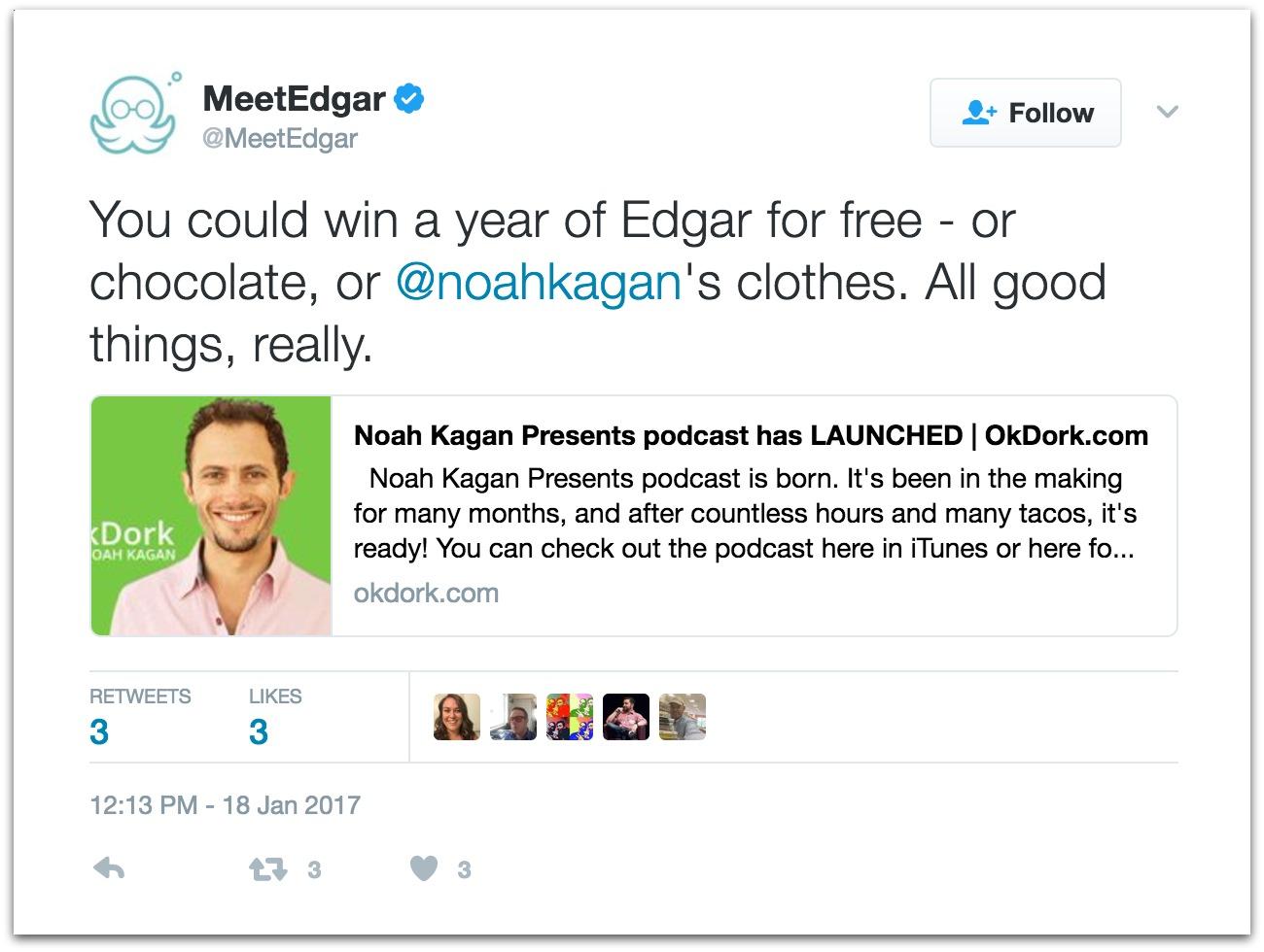 meetedgar tweet