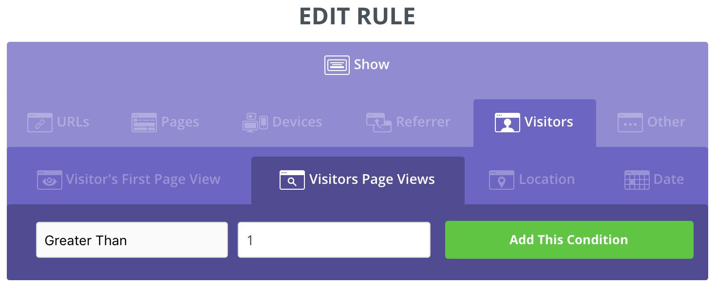 Screenshot showing Sumo popup settings page